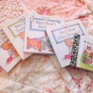 "VTG ""BITTY BEAR"" LITTLE BOOKS!"